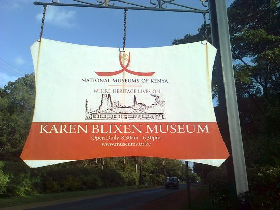 Karen Blixen Museum is a good spot in Nairobi
