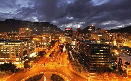 Adderley Street in Cape Town