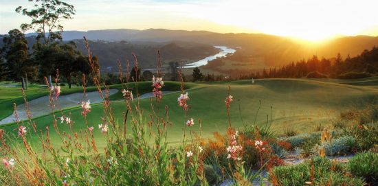 The Simola golf course in Knysna