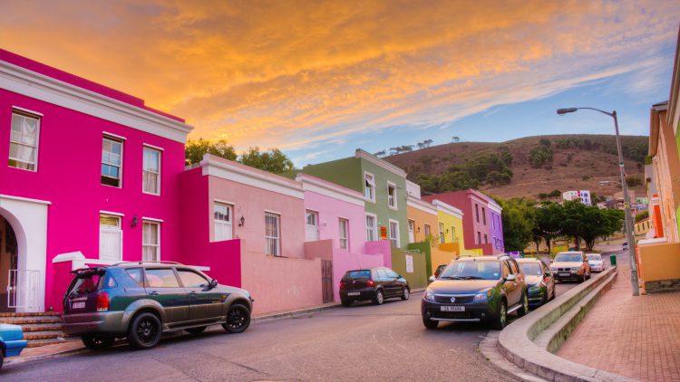 Traditionsviertel in Kapstadt - Bo Kaap