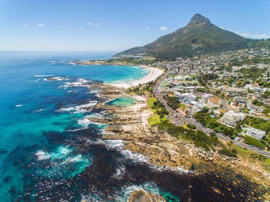 Quartiers Cape Town | Camps Bay au bord de l'Atlantique