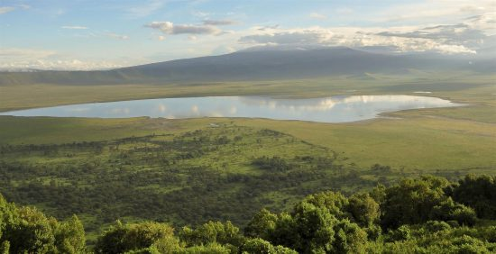 ngorongoro crater in Tanzania forms a perfect part of this Great Migration Safari