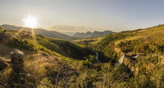 Lisbon Falls Hiking Trails Mpumalanga South Africa