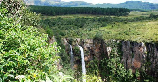 Mac Mac Waterfalls in the Panorama Route, Mpumalanga, South Africa