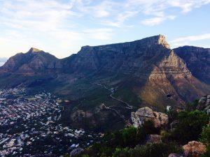 Randonnées à Cape Town : Table Moutain