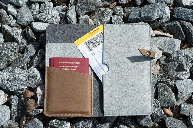 Travel Documents Passport Flugticket Safari Packliste