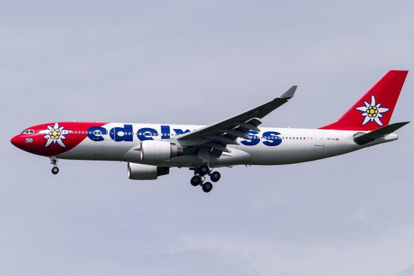Eine A330-200 der Edelweiss Airline