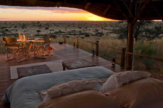 Tswalu Malori Lodge est le lieu idéal pour un safari sans paludisme et une nuit à la belle étoile