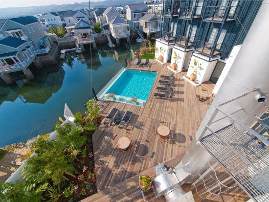 Turbine Boutique Hotel & Spa in Thesen island