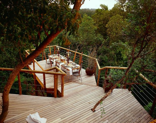 "Have dinner in a ""treehouse"""