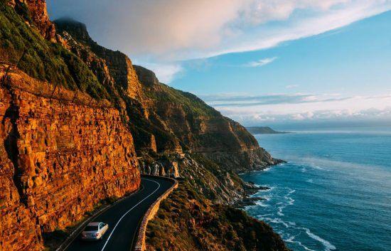A irresistível Chapmans Peak Drive na Cidade do Cabo