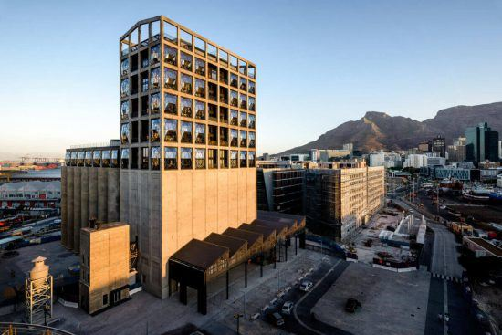 The Silo Hotel at the V&A Waterfront