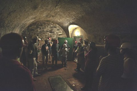 Discovering the forgotten tunnels on the Tunnel Tour