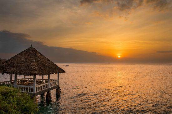 Atardeceres sobre la isla de Zanzibar