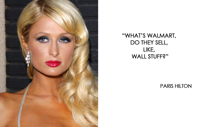 Paris Hilton quote