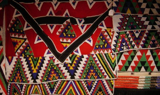 The intrinsic and colourful patterns of Zulu beadwork