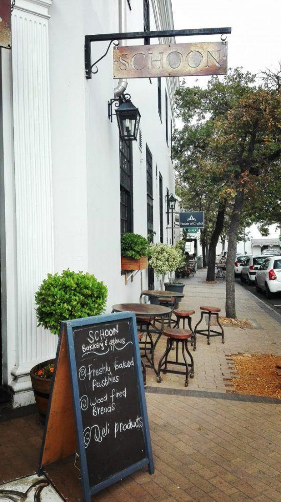 Restaurant Schoon De Companje à Stellenbosh