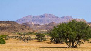 Mountain landscape in Damaraland, Namibia