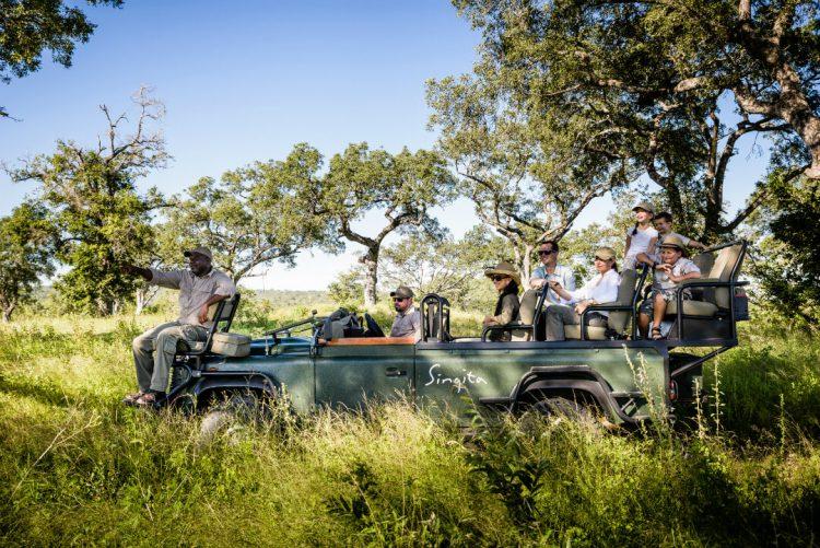 Safari privado en Singita Kruger