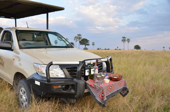 sundowners game vehicle