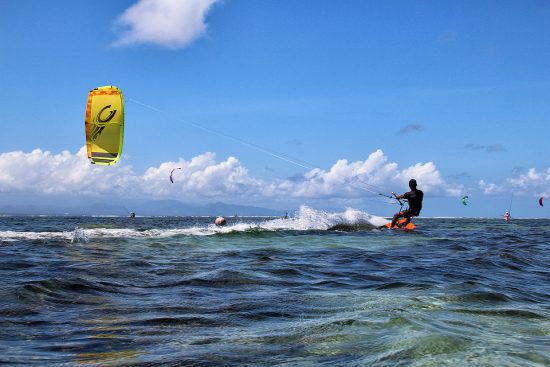 Kitesurfing at Madagascar