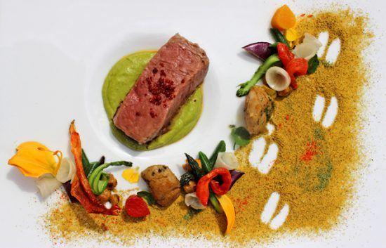 Food at Restaurant Mosaic