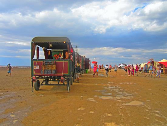 Trem no Afrikaburn