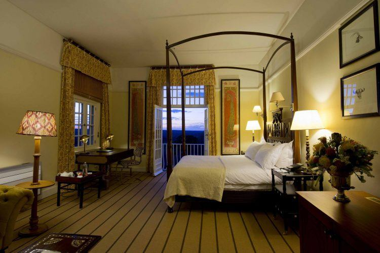 Habitación de The Victoria Falls Hotel en las cataratas Victoria