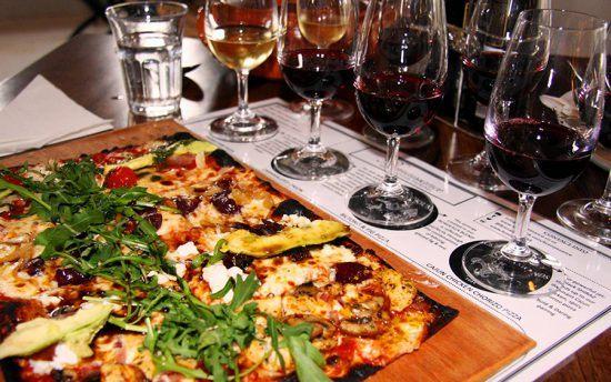 Degustação de vinho e pizza em Stellenbosch, África do Sul
