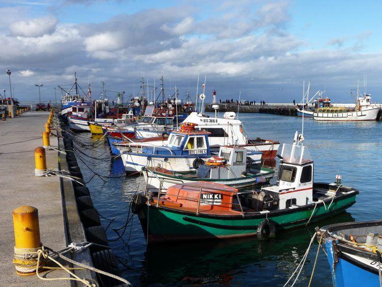 El puerto de Kalk Bay