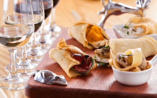 Degustação de vinho e panqueta em Uitkyk