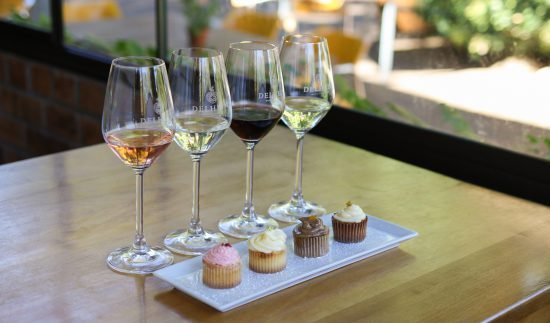 Delheim wine and cupcake pairing