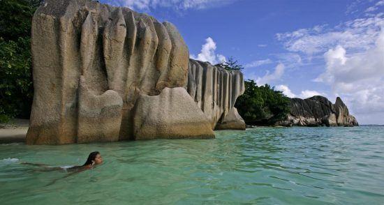 Traumstrand Seychellen La Dique