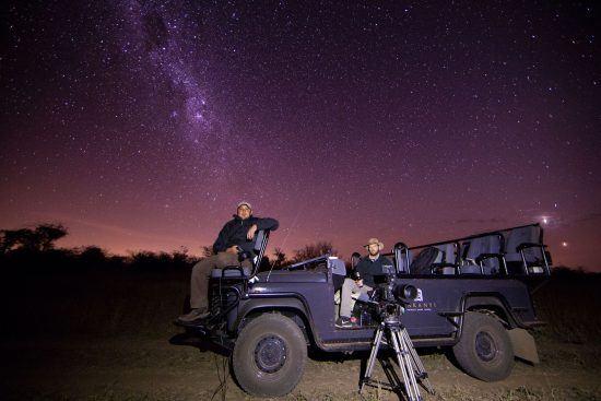 Inspírate bajo las estrellas africanas en Makanyi Private Game Lodge