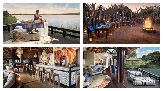 Royal Chundu --Island Lodge e River Lodge-- perto de Victoria Falls