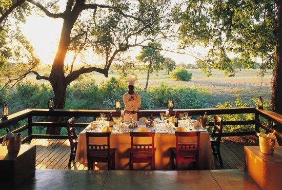 Desayuno con la mejor vista en el Sabi Sabi Selati Camp