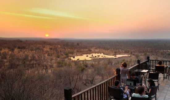 View from the Victoria Falls Safari Lodges
