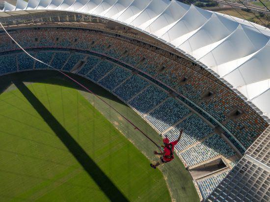 Big Swing at Moses Mabhida Stadium in Durban