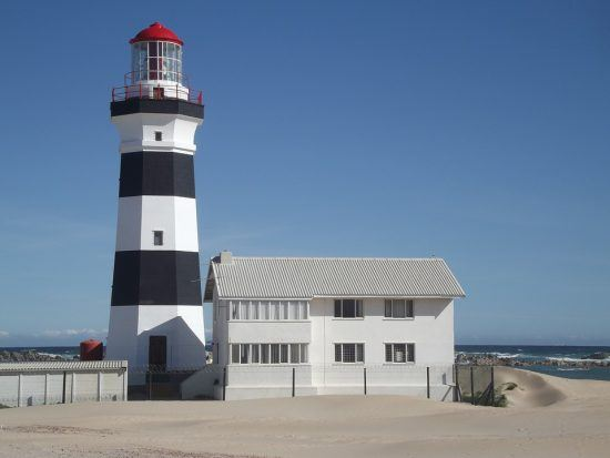 Cape Recife Leuchtturm in Port Elizabeth