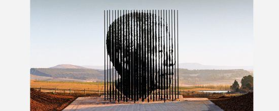 Mandela capture monument in the Midlands of South Africa