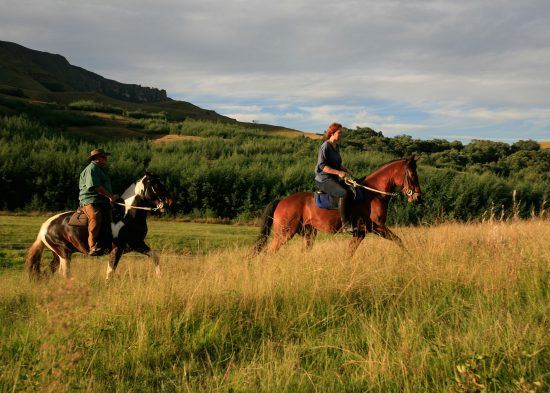 Horse riding at Cleopatra in South Africa