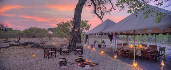 Savute under Canvas bietet exklusiven Luxus und unberührte Wildnis im Reich der Elefanten.