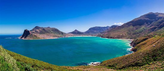 Hout Bay view in South Africa