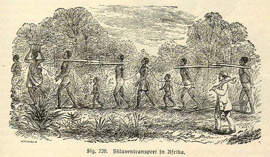 Sklavenhandel in Afrika