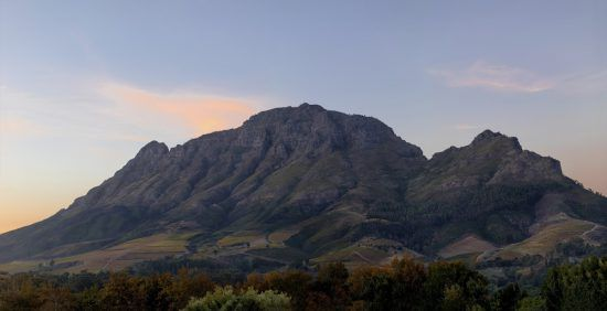 Região dos Vinhos, África do Sul