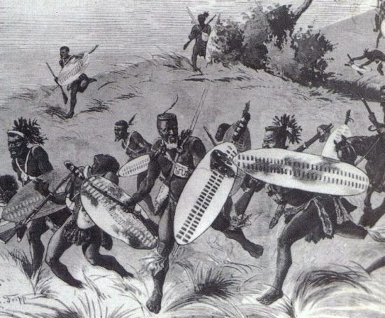 Abbildung aus dem Buch: Zulu War 1879, Twilight of a warrior nation, Ian Knight and Ian Castle
