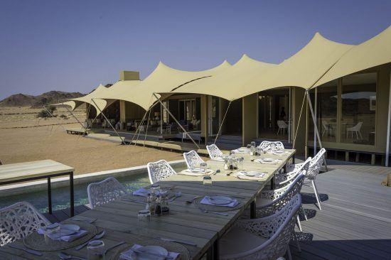 Außenbereich Hoanib Skeleton Coast Camp
