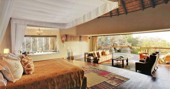 Quarto do Ulusaba Cliff Lodge