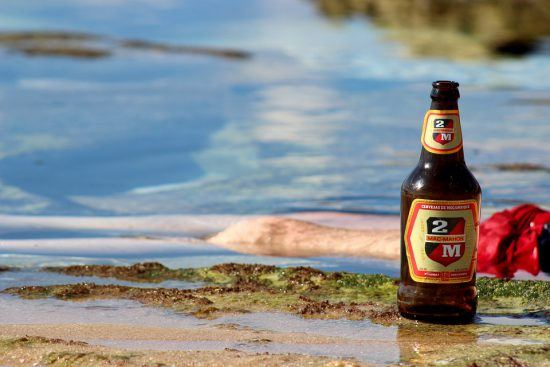 Local Mozambique beer, 2M.