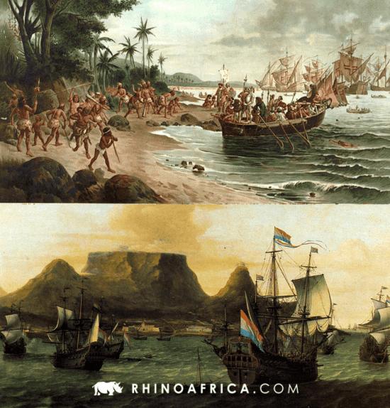 Semelhanças entre Brasil e África do Sul — Pinturasa de Oscar Pereira da Silva e Aernout Smit